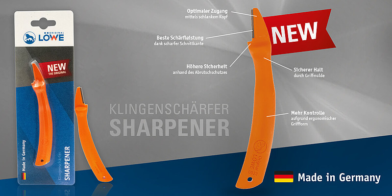 Klingenschärfer / Sharpener